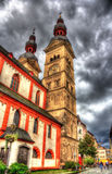Liebfrauenkirche, церковь в Кобленце Стоковое фото RF