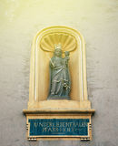Liebfrauenkirche German for Church of Our Lady statue Royalty Free Stock Photo