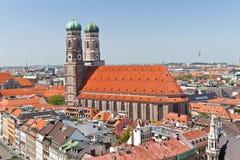 Liebfrauenkirche Munich, Tyskland Royaltyfria Bilder