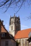 liebfrauenkirche nster m Zdjęcia Stock