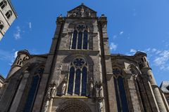 Liebfrauenkirche in Trier with blue sky Stock Photography