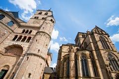 Liebfrauenkirche, Trier, Deutschland lizenzfreie stockfotos