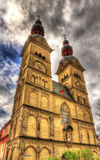 Liebfrauenkirche, uma igreja em Koblenz Foto de Stock Royalty Free