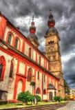 Liebfrauenkirche, une église à Coblence Image stock