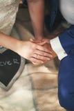 Liebhaber auf der Wolldecke Lizenzfreies Stockbild