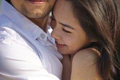 Liebhaber auf Strand Stockbilder