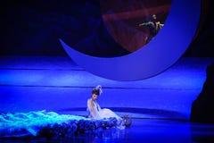 Liebhaber der Zahl-Hui Ballettmond über Helan Lizenzfreies Stockfoto
