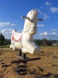 Liebhaberei-Pferd Stockfoto