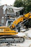 Liebherr R 918履带牵引装置挖掘机 免版税图库摄影
