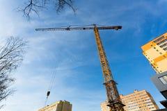 Liebherr tower crane Stock Photos
