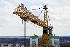 Liebherr tower crane Royalty Free Stock Photos