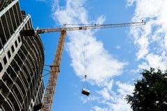 Liebherr tower crane Royalty Free Stock Photo