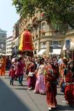 Liebres Krishna Fotos de archivo