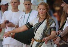Liebres Krishna/baile fotos de archivo libres de regalías