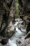 Liechensteinklamm (Liechtenstein Gorge) Stock Photography