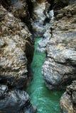 Liechensteinklamm & x28; Liechtenstein Gorge& x29; fotografia de stock royalty free