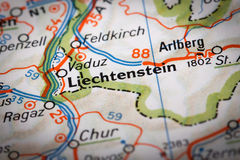 Liechtenstein photos libres de droits