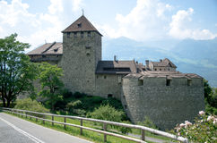 Liechtenstein Castle Royalty Free Stock Photography