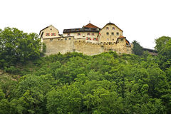 Liechtenstein Castle in Vaduz. Principality of Liechtenstein Royalty Free Stock Photo