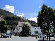 Liechtenstein downtown Royalty Free Stock Image