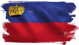 Liechtenstein Flag Royalty Free Stock Image