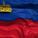 Liechtenstein  flag picture Royalty Free Stock Images
