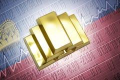 Liechtenstein gold reserves Stock Photo
