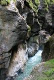 Liechtenstein Gorge Royalty Free Stock Photography