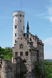Liechtenstein Castle in Germany Royalty Free Stock Photography