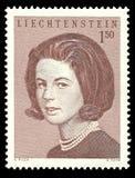 Liechtenstein, hrabina Maria Aglae Kinsky Obrazy Stock