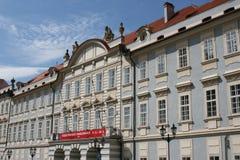 Liechtenstein Palace (Malostranské náměstí, Prague) Stock Photos