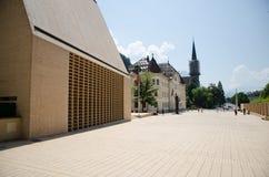 Liechtenstein parliament Stock Images