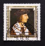 Liechtenstein postage stamp Stock Photo