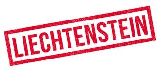 Liechtenstein rubber stamp Stock Image