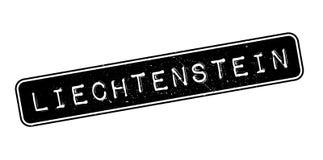 Liechtenstein rubber stamp Royalty Free Stock Photos