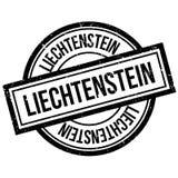 Liechtenstein rubber stamp Stock Photo