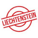 Liechtenstein rubber stamp Stock Photography