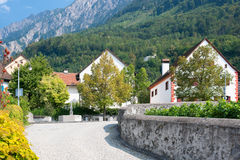 Liechtenstein in september Stock Images