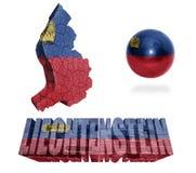Liechtenstein Symbols Stock Photography