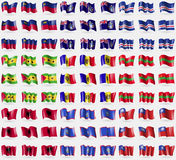 Liechtenstein, Tristan da Cunha, Cape Verde, Sao Tome and Principe, Moldova, Transnistria, Albania, Guam, MyanmarBurma. Big set of Stock Photography