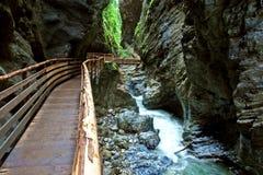 Liechtensteinklamm canyon Stock Image