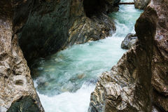 Liechtensteinklamm gorge  (Austria) Stock Photos