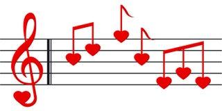 Lied 2 van de liefde Royalty-vrije Stock Foto