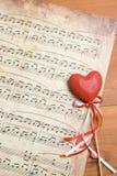Lied van liefde Stock Foto