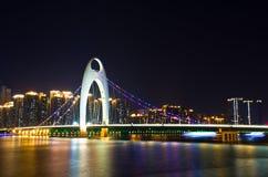 Liede Brücke in Guangzhou Stockbild