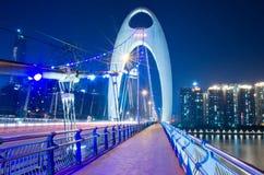 Liede Brücke in Guangzhou Stockbilder