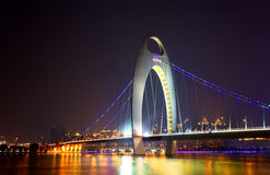 Liede bridge in Guangzhou Royalty Free Stock Photography