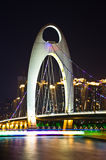Liede bridge in Guangzhou. Stock Photography