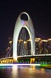 Liede bridge in Guangzhou. Stock Photography