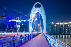 Liede bridge in Guangzhou Stock Images